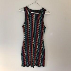 NBD Dress CS Sleeveless Mini Stretch